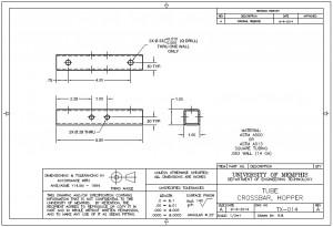 TX-014 Hopper Crossbar Tube