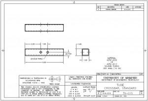 TX-015 Standard Crossbar Tube