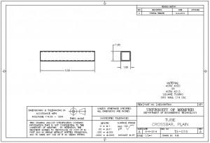 TX-016 Plain Crossbar Tube