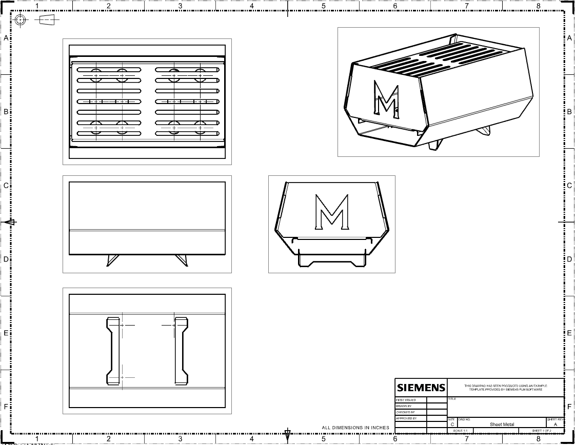 Sheet Metal From Dxf To Assembly Manufacturinget Org